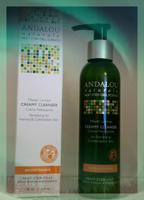 ANDALOU Naturals - Meyer Lemon Creamy Cleanser - kremowy żel do mycia twarzy