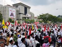 Ribuan Santri Minta Jokowi Batalkan Lima Hari Sekoah