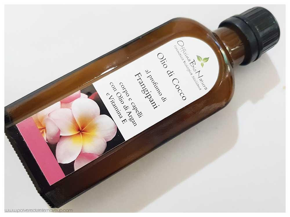 Officina BioNatura olio di cocco Frangipani