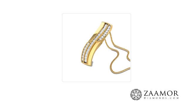 Petronella Diamond Pendant
