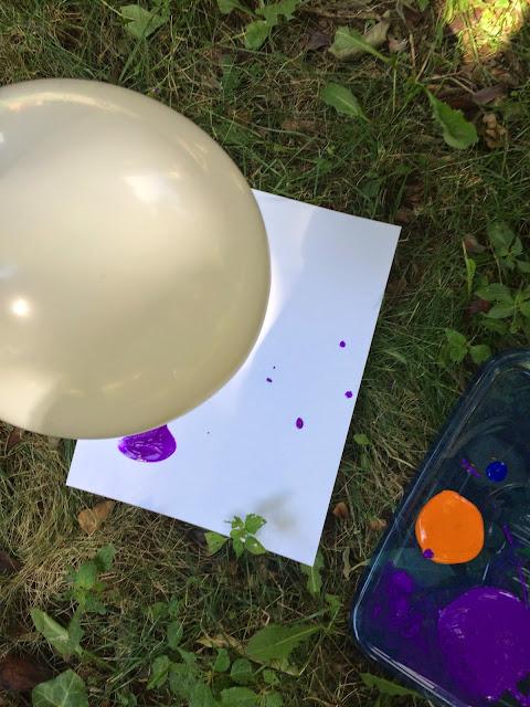 Kids' process art