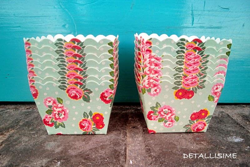 cápsulas de flores