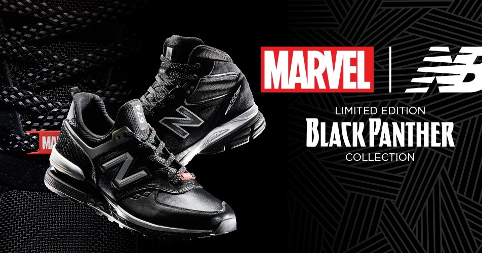 e1375125a7 The Blot Says...  Black Panther Limited Edition Sneakers by New Balance x  Marvel x Jimmy Jazz