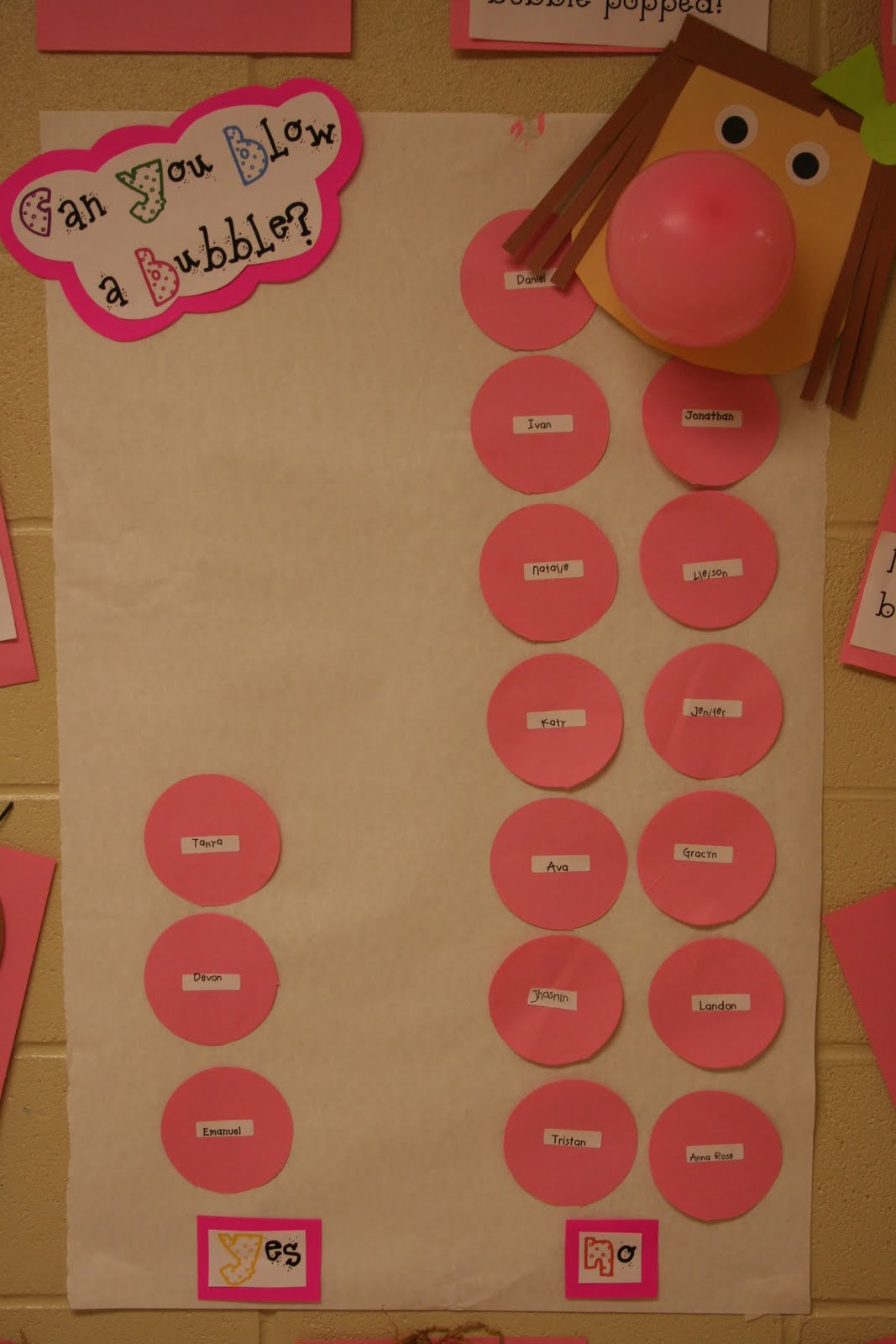 Today Was Pink Day My Favorite Color Because Is We Did A Fun Activity That I Wanted To Share With You Guys