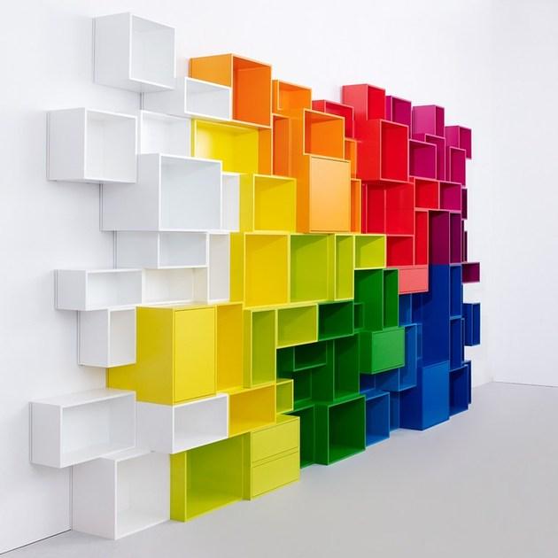 Inspirasi Desain Rak Dinding Unik   Desain Rumah Modern ...
