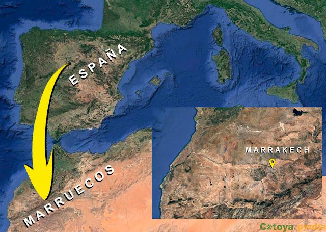 Viaje España a Marruecos