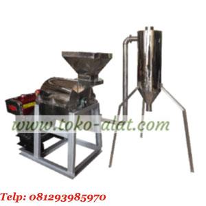 Mesin penepung (hammer mill) stainless steel dengan cyclon