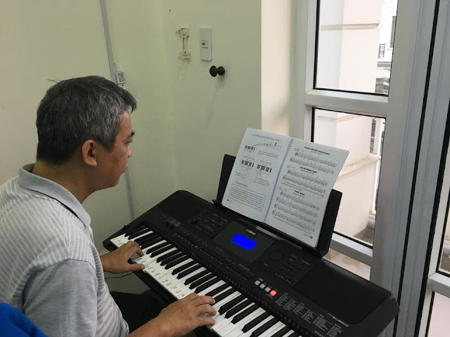 Học Organ chưa bao giờ là trễ, trường nhạc SMS, Quận 2.