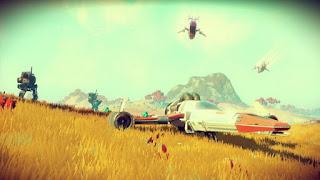 Rilis No Man Sky Game Dengan Berjuta Planet
