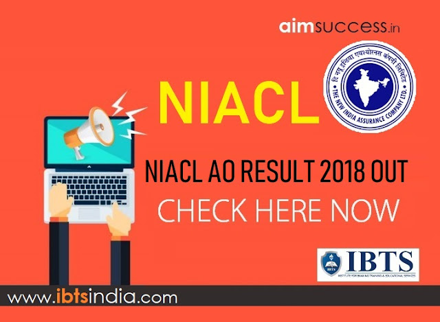 NIACL AO Result 2018 Out, Check Here Now!