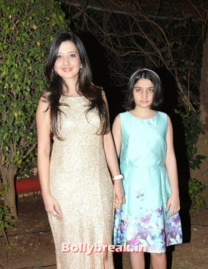 Amy Billimoria, Araiaan, Ahana Deol Wedding & Reception Pics