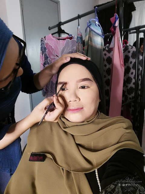 Make Up Cantik Dari MUA Fatin