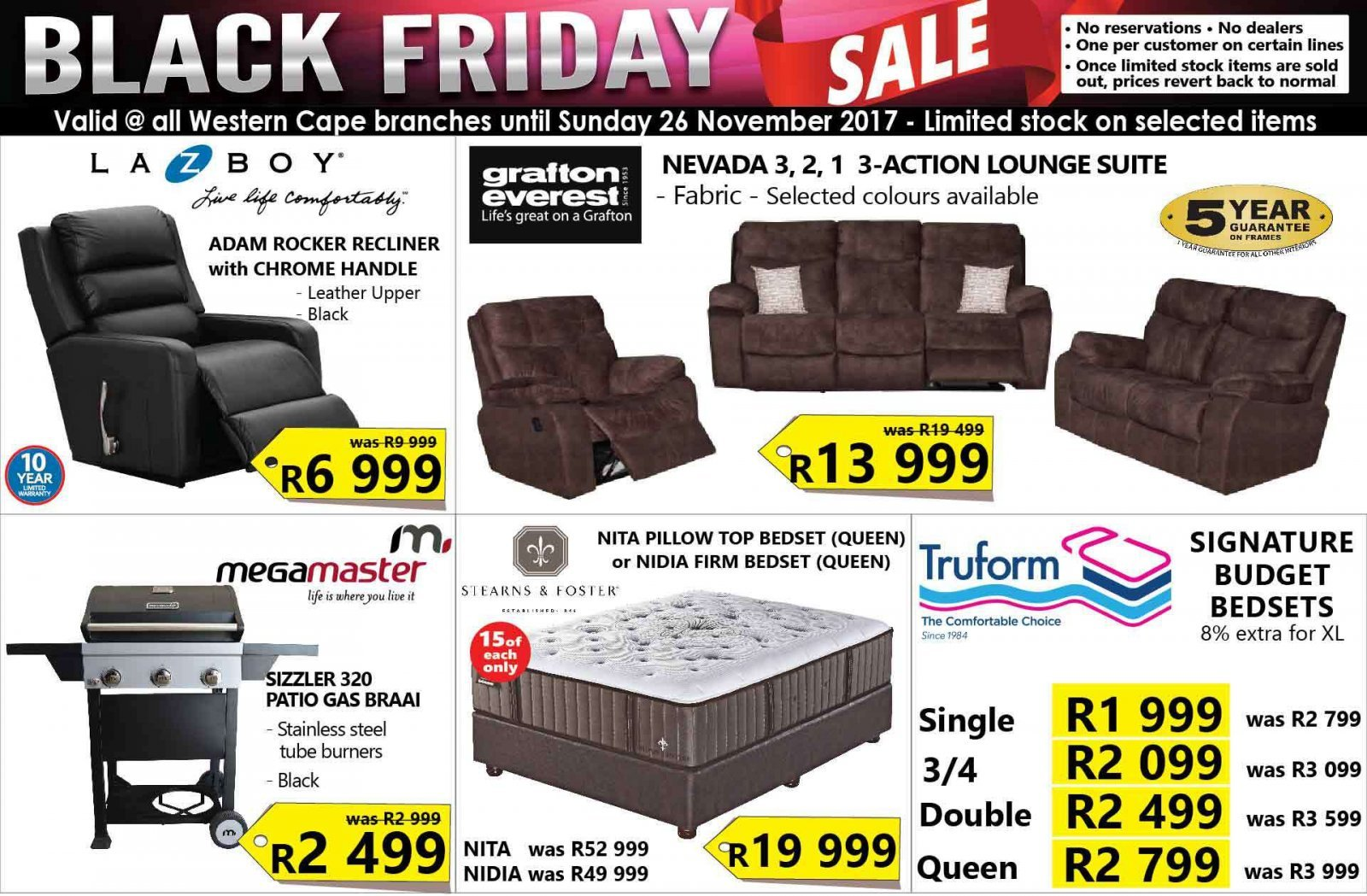 12eff5ca40 Click here SEE List of All stores Black Friday 2017 deals in South Africa