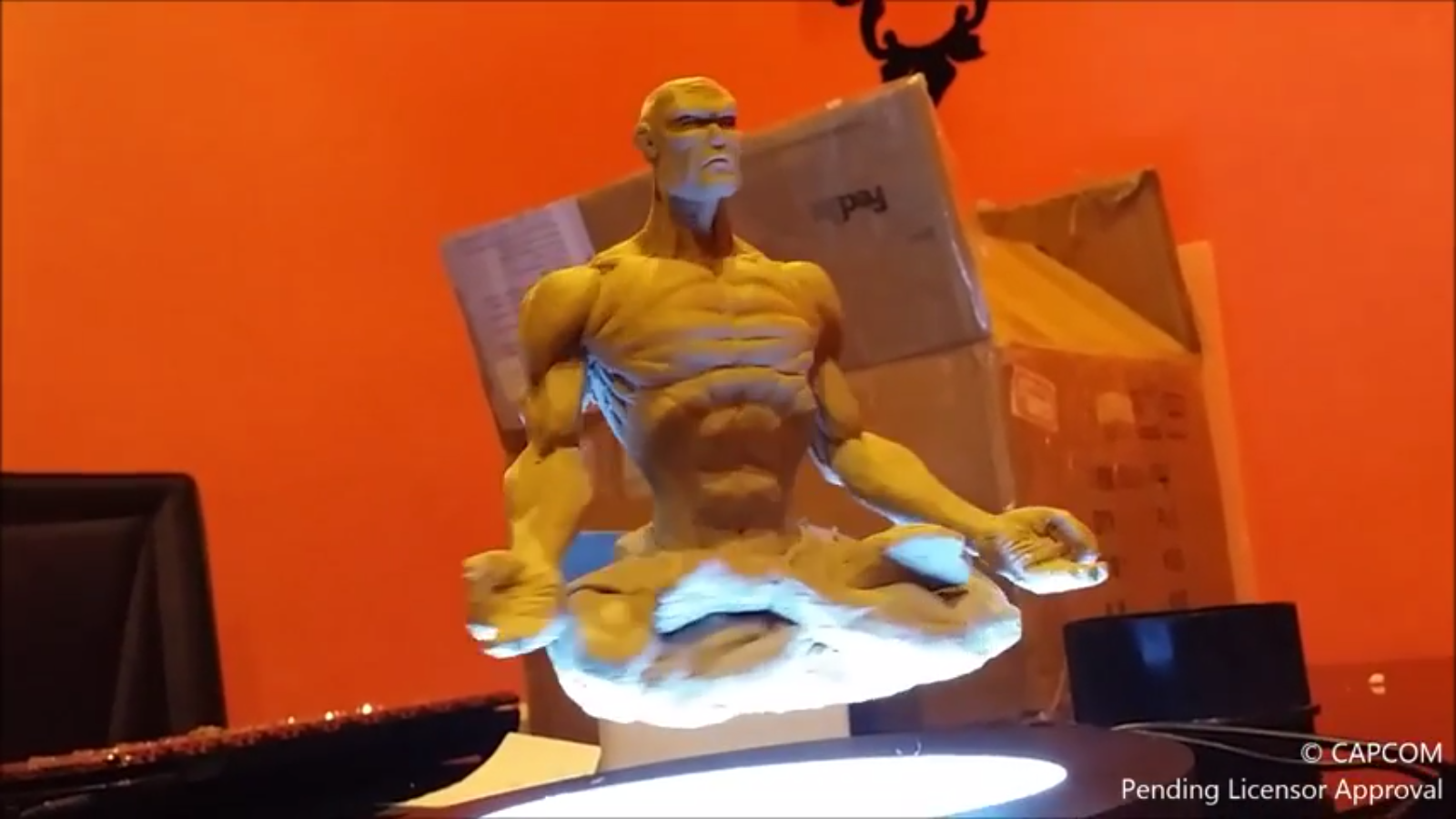Dhalsim Yoga levitation by Kinetiquettes