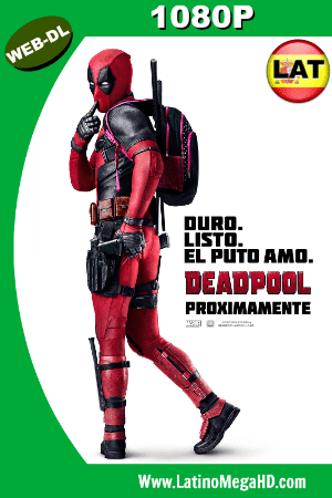 Deadpool (2016) Latino HD WEB-DL 1080P (2016)