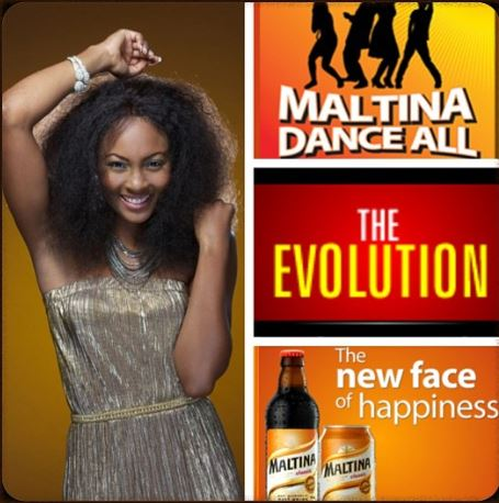 Osas Ighodaro maltina dance all