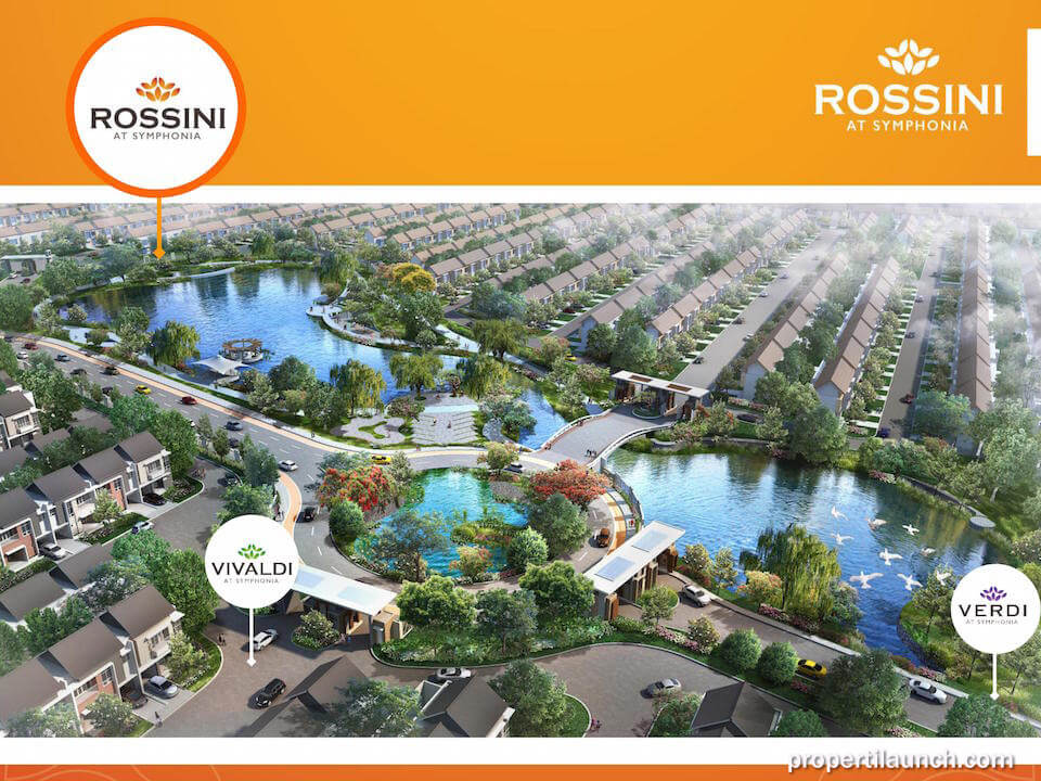 Lokasi Cluster Rossini at Symphonia