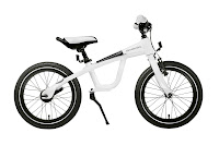Mercedes-Benz Bikes 2013: Mercedes-Benz Kids' Bike. Blue metallic, white or pink. Dual functionality: remove the drive mechanism to transform the Kids' Bike into a balance bike. Age 3+.