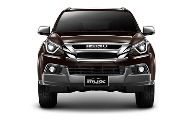 New 2018 Isuzu MU-X Facelift front Hd Image