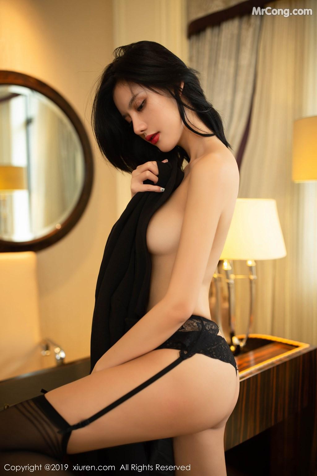 Image XIUREN-No.1640-Jiu-Shi-A-Zhu-A-MrCong.com-037 in post XIUREN No.1640: Jiu Shi A Zhu A (就是阿朱啊) (85 ảnh)