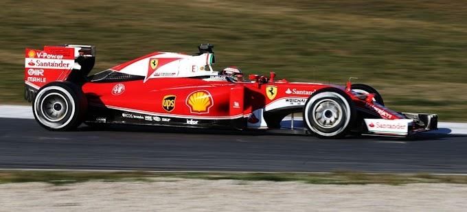 """Kimi Räikkönen: """"El coche me gusta y el equipo está feliz"""""""