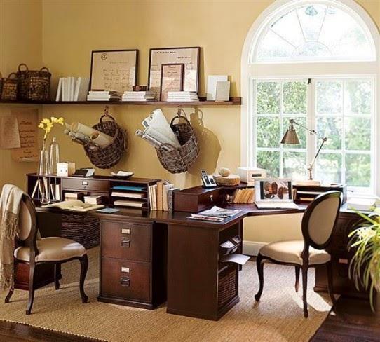 Decoración oficina en casa