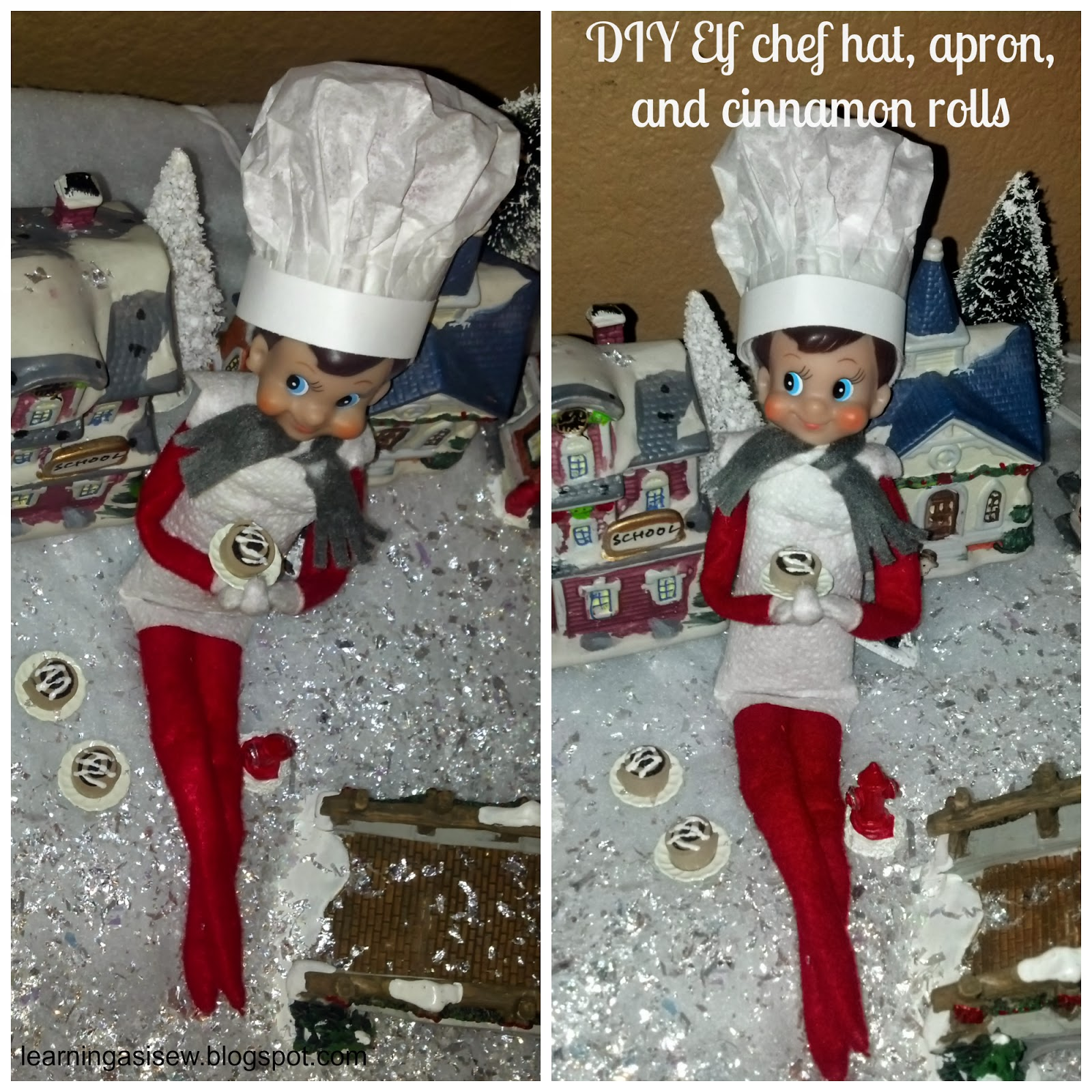 Learning As I Sew...bake, cut, and create: Elf on the Shelf Ideas ...