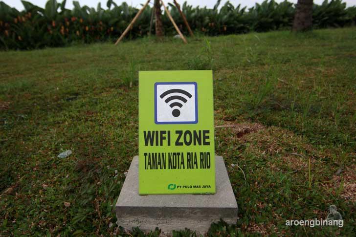 wifi zone taman kota ria rio jakarta