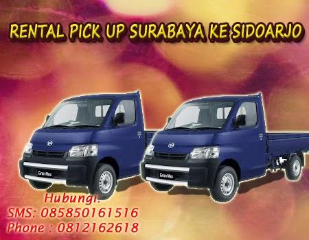 Rental Pick Up Surabaya ke Sidoarjo