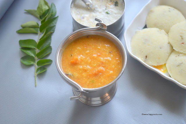 Tiffin Sambar Recipe | Moong Dal Sambar