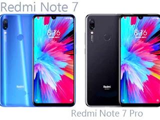 Redmi Note 7 vs. Note 7 Pro