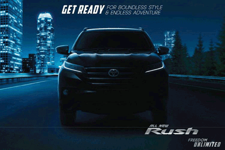 Promo Kredit All New Rush Model Baru 2018