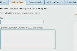 Quiz Maker Facebook