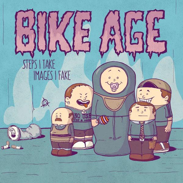 "Bike Age stream new album ""Steps I Take Images I Fake"""