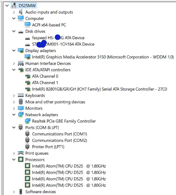 Quantan: Windows 10 di PC Intel Atom D525