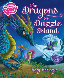 MLP The Dragons on Dazzle Island Book Media