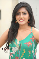 Actress Eesha Latest Pos in Green Floral Jumpsuit at Darshakudu Movie Teaser Launch .COM 0141.JPG