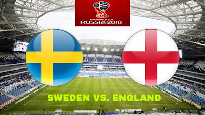 Live Streaming Sweden vs England Suku Akhir Piala Dunia 7.7.2018