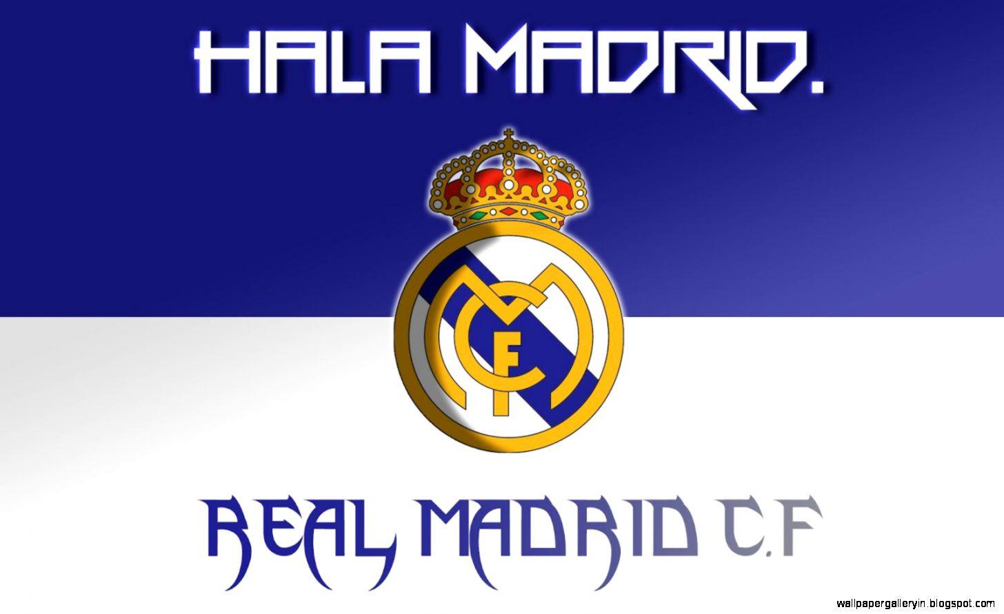 Real Madrid De Club Logo Hd Wallpaper Gallery