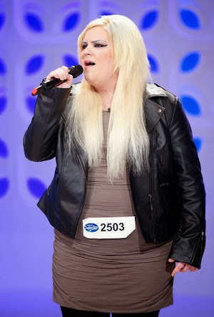 Breast explosion? American Idol contestant in great concern