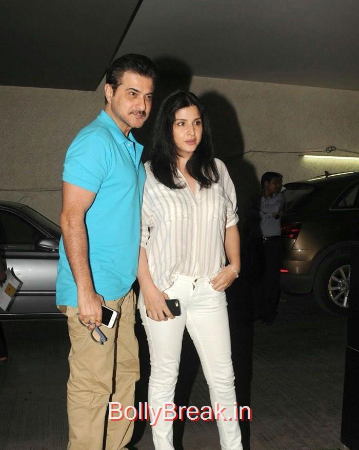 Sanjay Kapoor, Maheep Sandhu, Dia Mirza Hot Pics at 'Tanu Weds Manu Returns' Special Screening