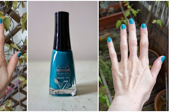 Lubie Vernis : 0328 Teal - Collection Tentation - Fashion Make-Up