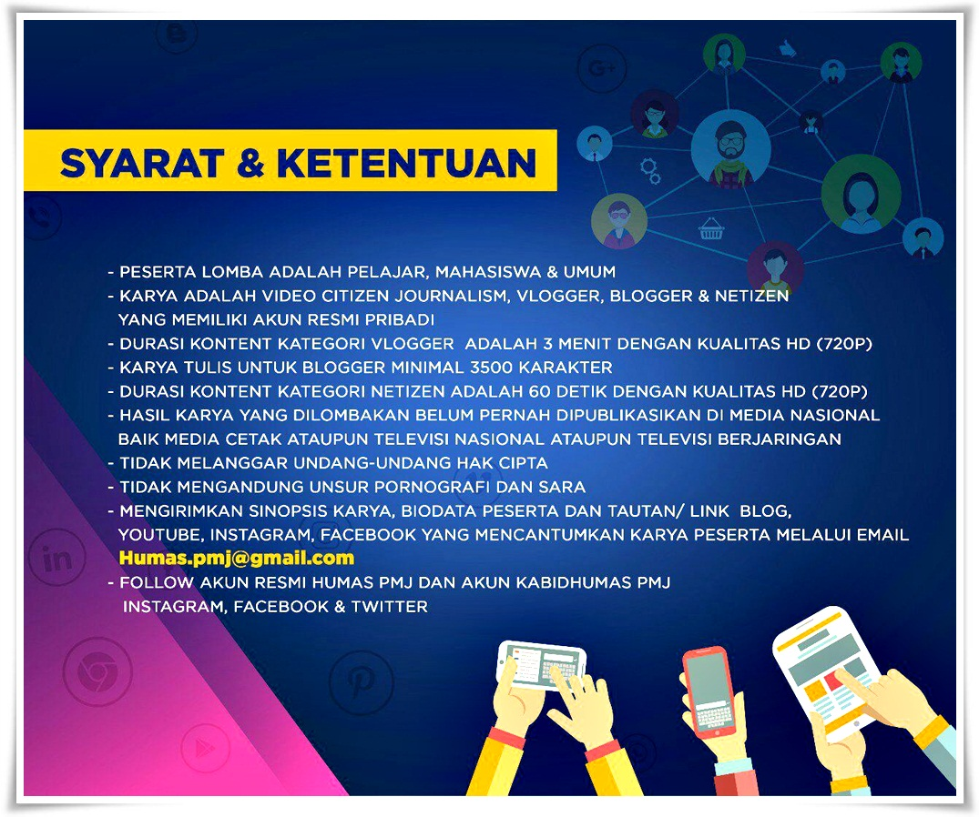 Lomba Blog Vlog Citizen Journalism Social Media Competition