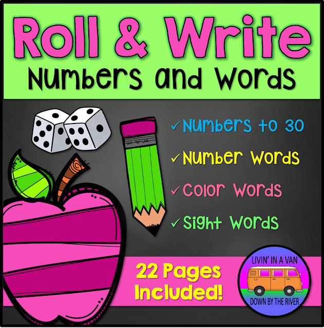 #rollandwrite, #centers, #handwriting, #teaching, #tpt