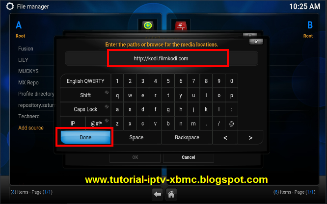how to add specto to kodi