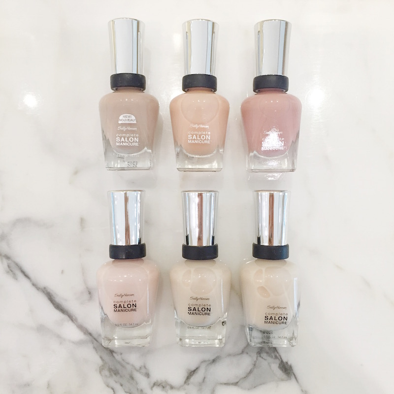 Sally Hansen Complete Salon Manicure Beige Wardrobe: A quick review