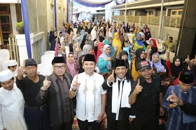 Ridho Buka Puasa Bersama Paku Banten