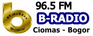 Streaming B-Radio FM 96.5 MHz Bogor