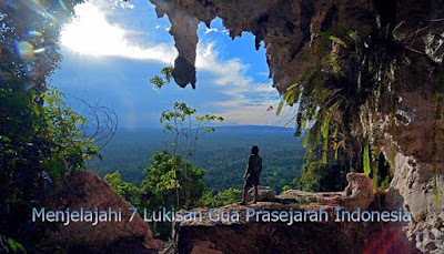 lukissan gua prasejarah indonesia