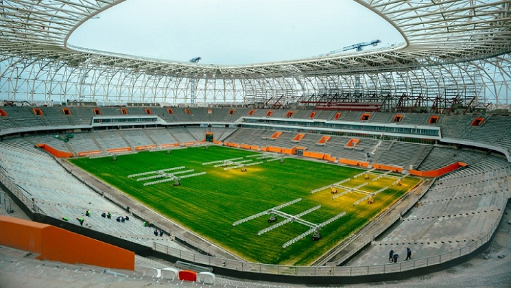 Mordovia Arena, Stadion Piala Dunia 2018